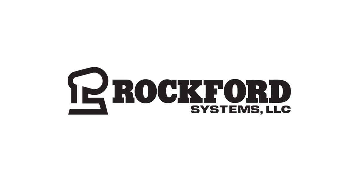 Black Rockford Systems Logo RBG